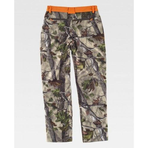 Pantalone workshell Caccia