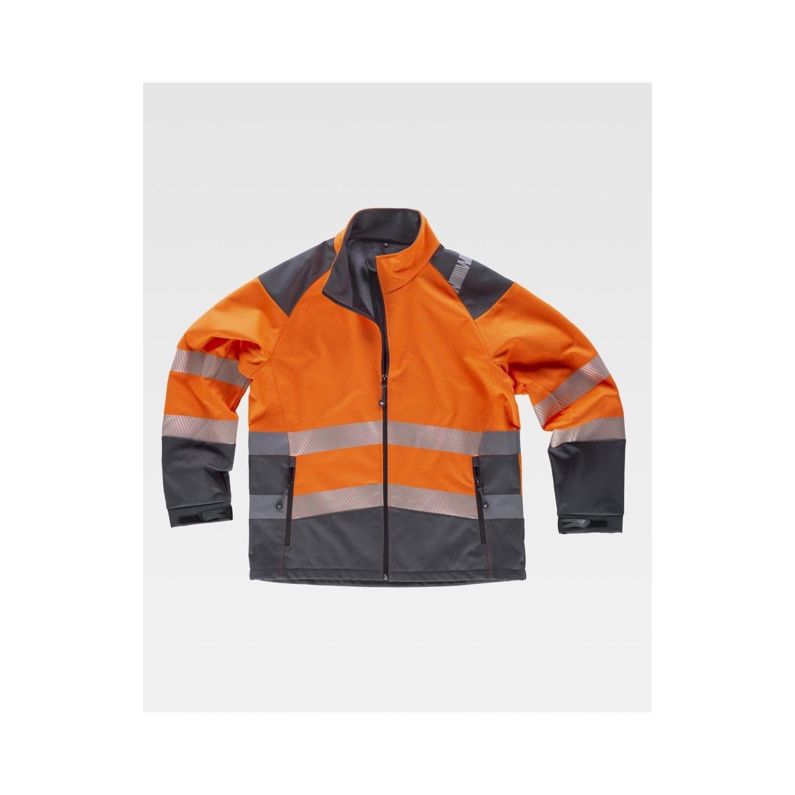 Giacca Work Shell alta visibilità