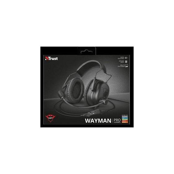 cuffie+microfono 3.5mm gaming trust GXT444 wayman pro 23248
